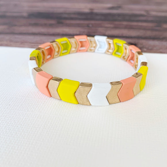 Boutique Bracelet Collection :: Josie Summer Chevron