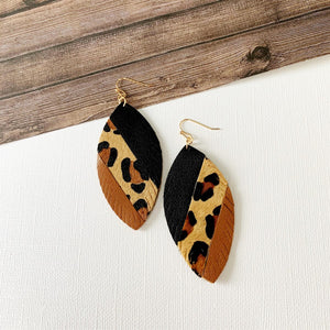 Baubles & Bits Boutique :: Macy Color Block Leopard Drops