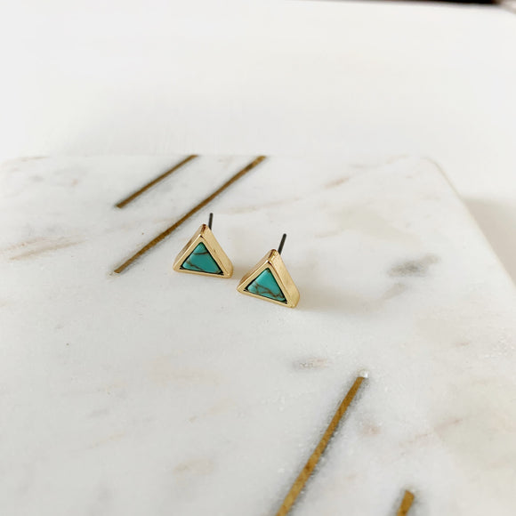 Baubles & Bits Boutique Collection :: Turquoise Triangles