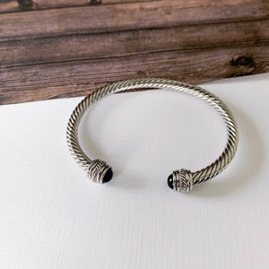 Cable Bracelet Collection :: Autumn Black