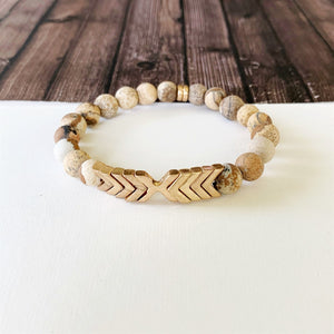 Boutique Bracelet Collection :: Alessia Natural Stone - Tigerstone