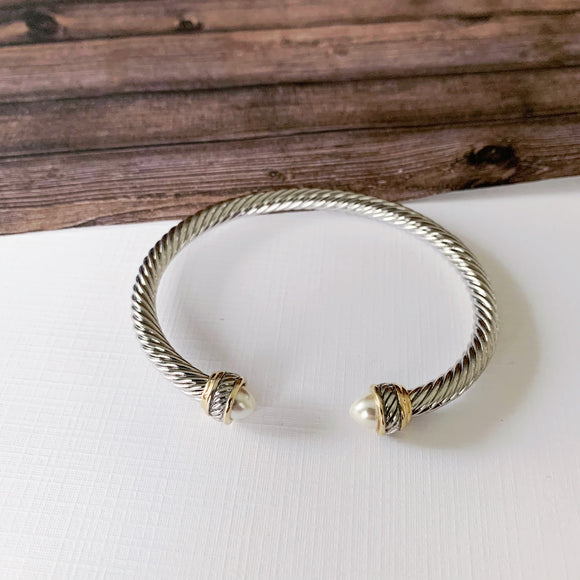 Cable Bracelet Collection :: Lianna Pearl
