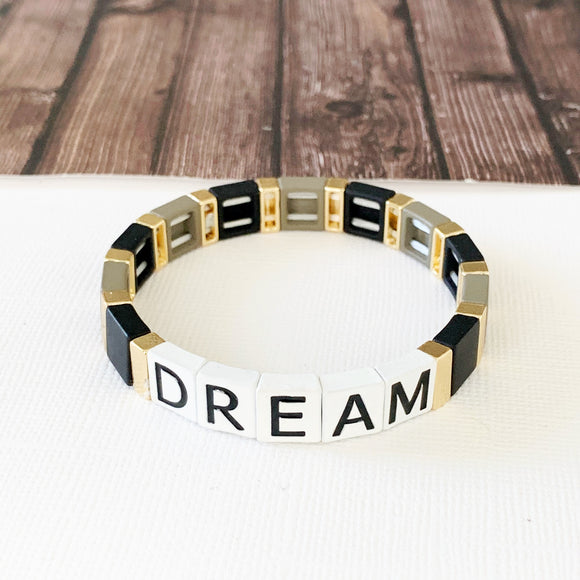 Boutique Bracelet Collection :: Dream Tile Bracelet Multi