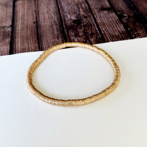 Boutique Bracelet Collection :: Peyton Petite Gold Disc Bracelet