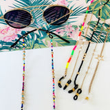 Glasses Chain :: Claire Multi-Hued Beaded Chain