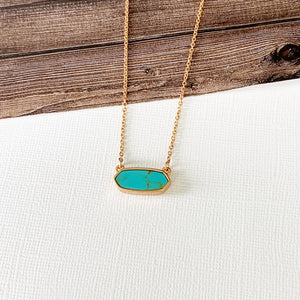 Baubles & Bits Boutique :: Debbie Turquoise Necklace