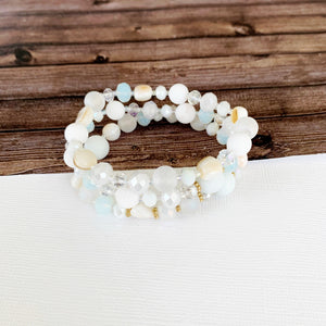 Beach Bracelet Collection :: Maya Stacking Bracelets