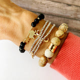 Boutique Bracelet Collection :: Ella Natural Stone - Tigerstone