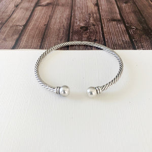 Cable Bracelet Collection :: Sherry Silver