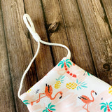 Reusable Face Mask :: Flamingo