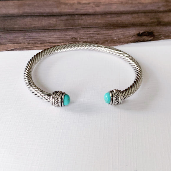 Cable Bracelet Collection :: Autumn Turquoise