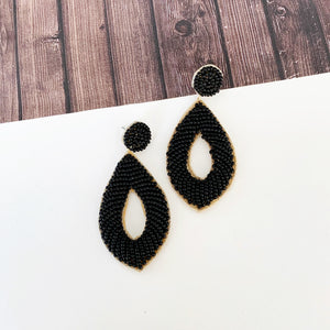 Baubles & Bits Boutique :: Giona Beaded Drop Earrings