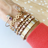 Boutique Bracelet Collection :: Tenley Watercolor Cuff Bracelet