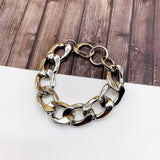 Boutique Bracelet Collection :: Valerie Silver Chunky Link Bracelet