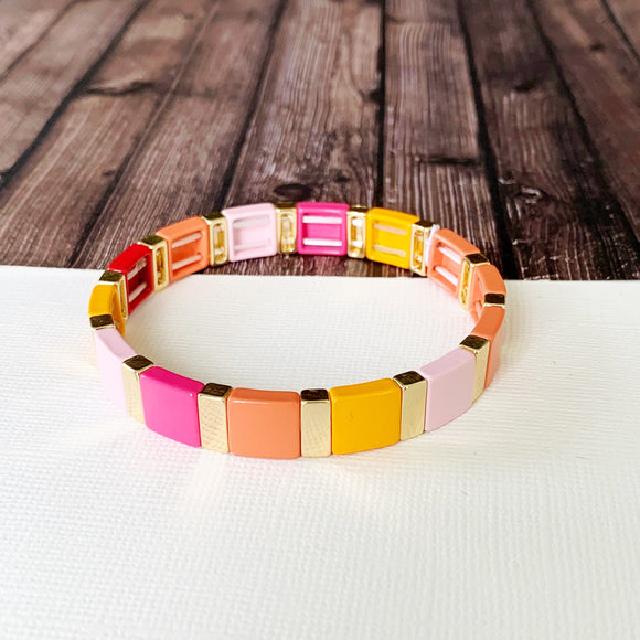 Boutique Bracelet Collection :: Vally Summertime Tile Bracelet
