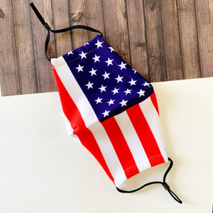 Reusable Face Mask :: American Flag