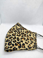 Load image into Gallery viewer, Leopard Print Cloth Face Mask