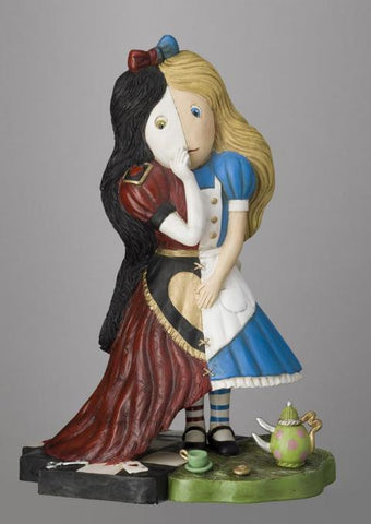Peter Smith Queen Alice Sculpture in stock
