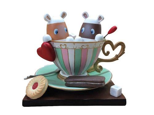 Peter Smith You`re My Cup Of Tea - Sculpture ❤️