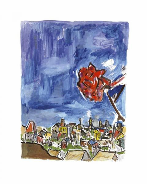 Bob Dylan Rose On A Hillside 2009 1 in stock