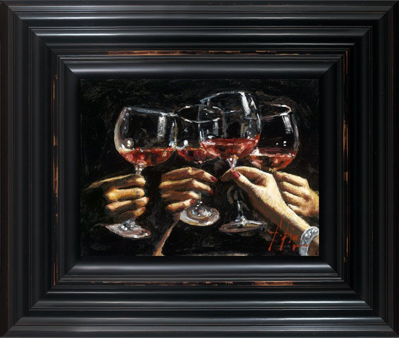 Fabian Perez Brindis Con Rose 1 in Stock❤️