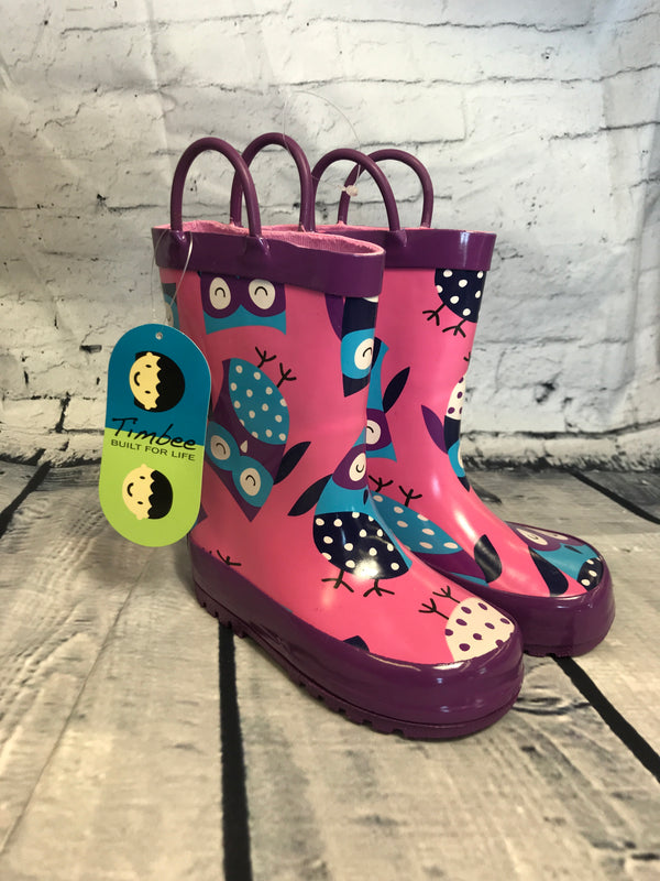 New Timbee Rainboots Toddler 7, Toddler 8, Toddler 9, Kid 10, Kid 11