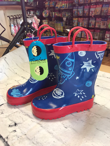 New Timbee Rainboots Toddler 7, Toddler 8, Toddler 9, Kid 10