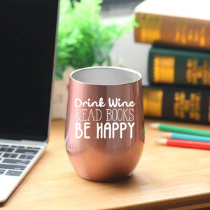 Book Lovers Gifts Women - 12 oz Wine Tumbler or Mug