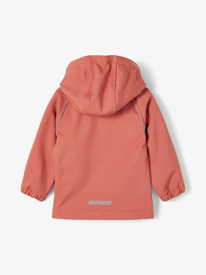 NMFALFA SOFTSHELL JACKET MAGIC 3FO CAMP