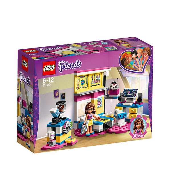 Lego friends olivias soverom