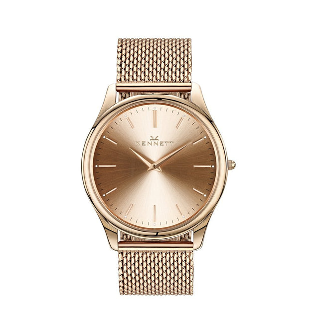 Kennett Watch Kennett Kensington Watch Rose Gold Milanese