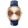 Kennett Kensington Watch Rose Gold Royal Blue Leather