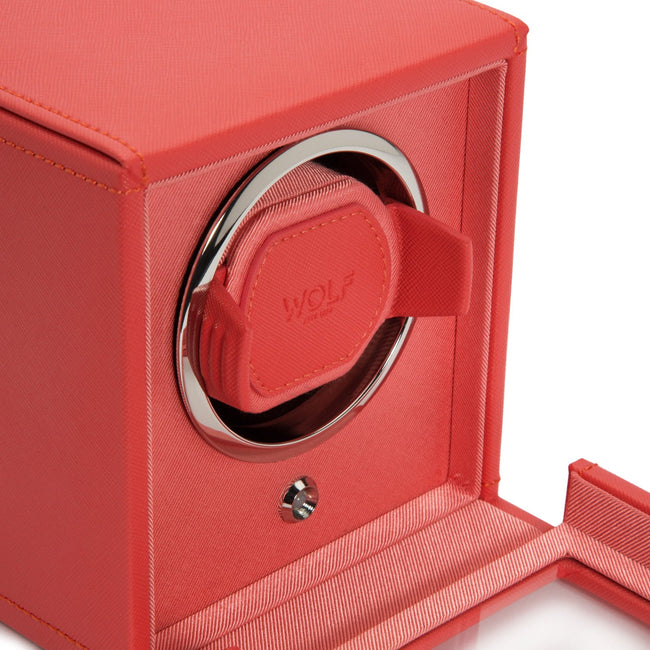 Watchavenueuk Cub Winder With Cover Coral