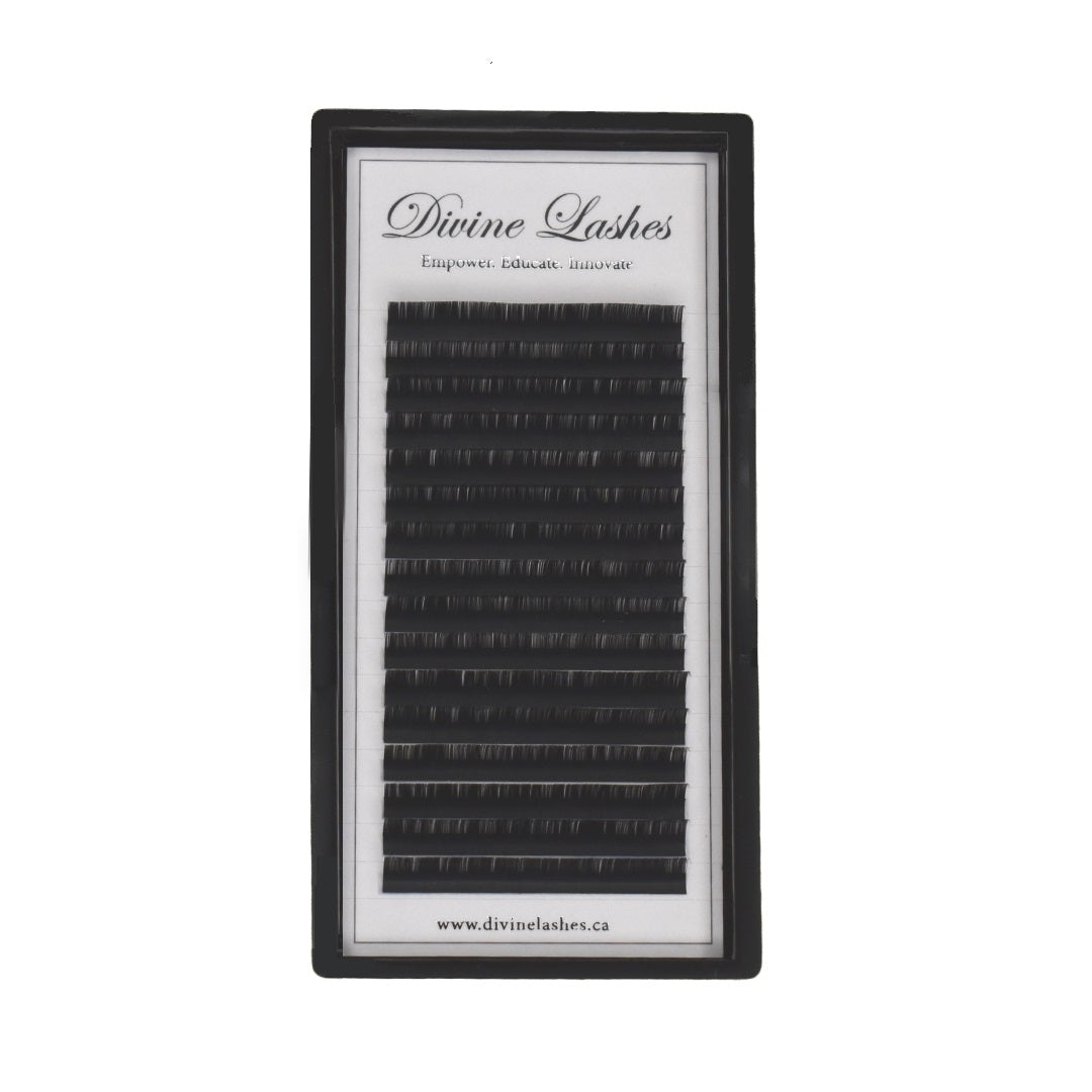 D CURL - Mixed Length - Premium Silk Lashes