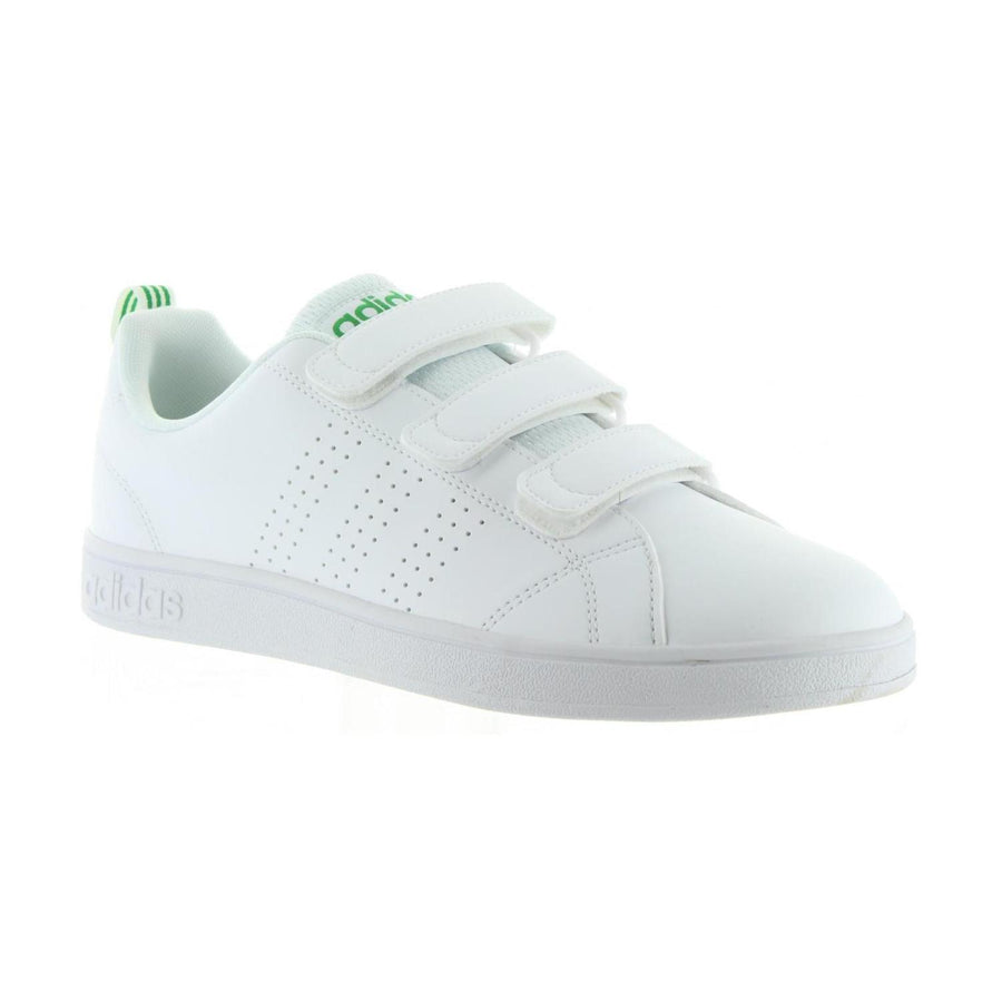 ADIDAS SNEAKERS UOMO AW5210 VS ADVANTAGE CLEAN CMF FTWBLA BIANCO