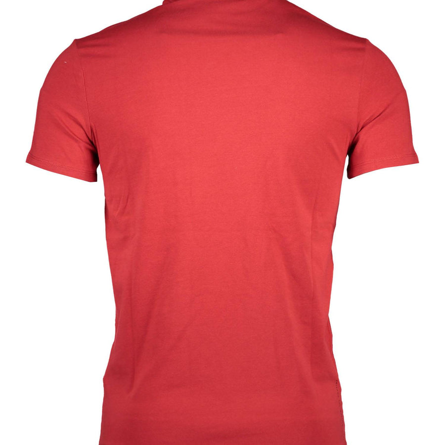 GUESS JEANS T-SHIRT UOMO ROSSO