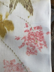Botanical Print Scarf -Queen Anne's Lace