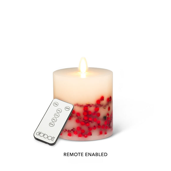 Candle LED</br> Berry, Small