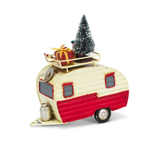 Camper </br>Christmas Tree & Gifts