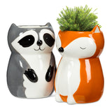 Planter / Vase </br>Sitting Fox