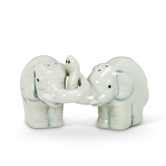 Salt & Pepper </br>Hugging Elephants