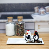 Salt & Pepper </br>Farmhouse Roosters