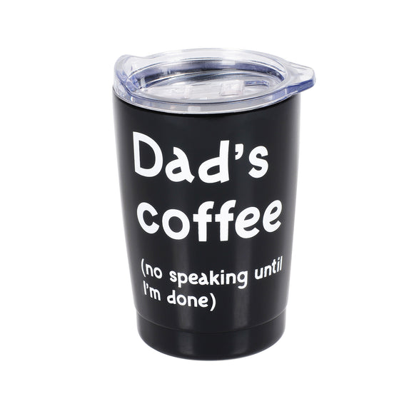 Tumbler Insulated </br>Dads Coffee & Lid