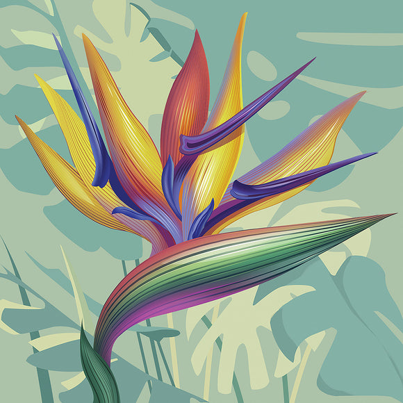 Napkins - Luncheon </br>Bird of Paradise