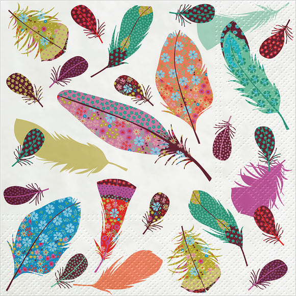 Napkins - Luncheon </br>Delicate Feather