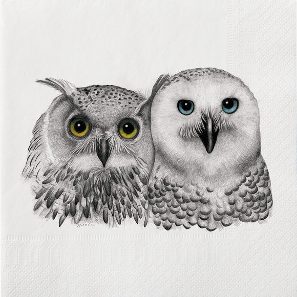 Napkins - Luncheon </br>2 Owls