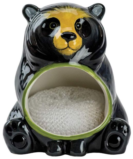 Scrubby Holder </br>Black Bear