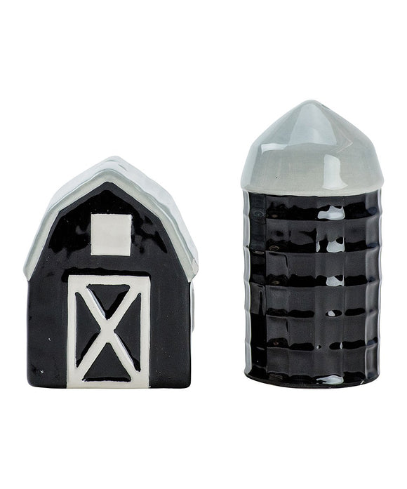 Salt & Pepper </br>Farmhouse Barn/Silo