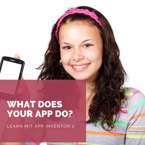Online tutor taught course: Apps Development with MIT App Inventor 2