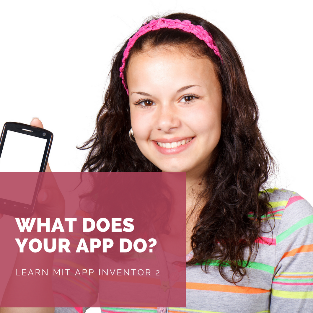 Online tutor taught course: Apps Development with MIT App Inventor 2 (pay hourly)